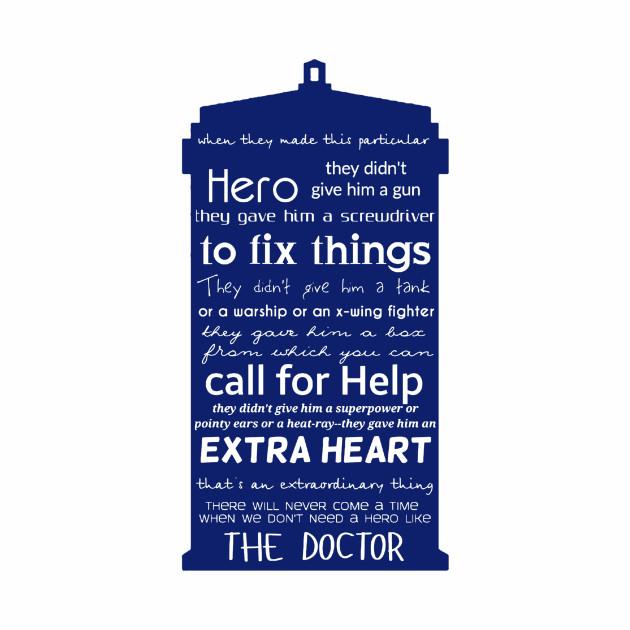 A hero like the Doctor