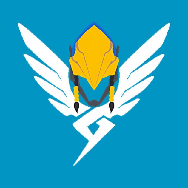 Pharah Mercy icon mashup Overwatch