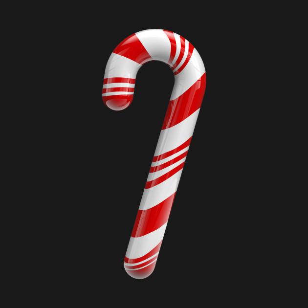 The Santa walking stick
