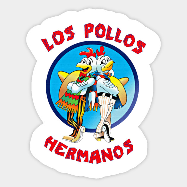 10 Small House Designs That Break Preconceptions About Small Size: Los Pollos Hermanos - Breaking Bad - Sticker