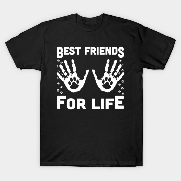 cf4efb6a7 Funny Cat Dog Best Friends For Life T-Shirt & Hoodie - Funny Cat Dog ...