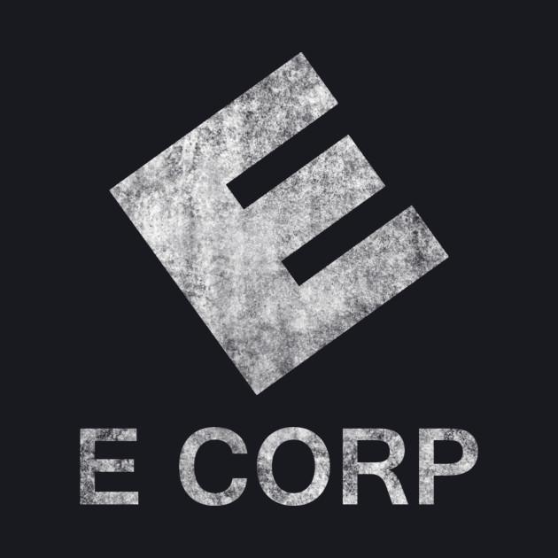 Mr. Robot - E Corp - White Dirty