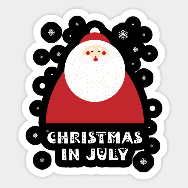 Christmas In July Party Clipart.Christmas In July Cool Summer Beach Party Cute Santa Claus By Ahmed4411