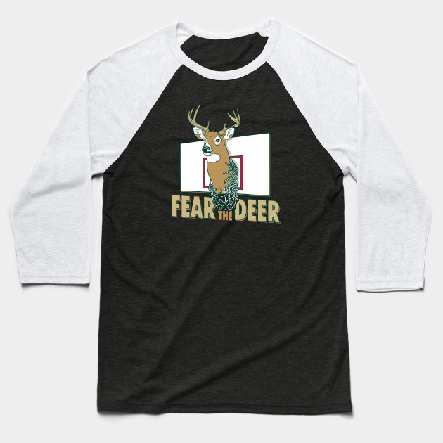 the latest f8dcf 26ca3 Fear the Dear Milwaukee Bucks Basketball T-shirt