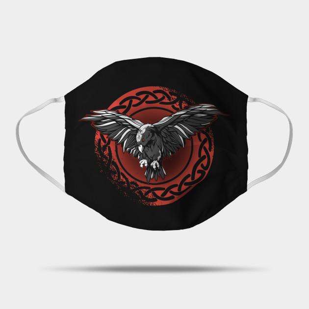 Odin Ravens Huginn & Muninn Vegvisir Vikings Celtic Nordic