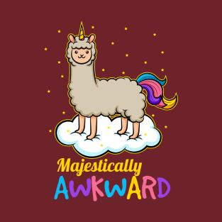 Unicorn Llama Llamacorn T-Shirt for Llama Lover Fan Girl Unless You Can Be a Llamacorn Always Be Yourself