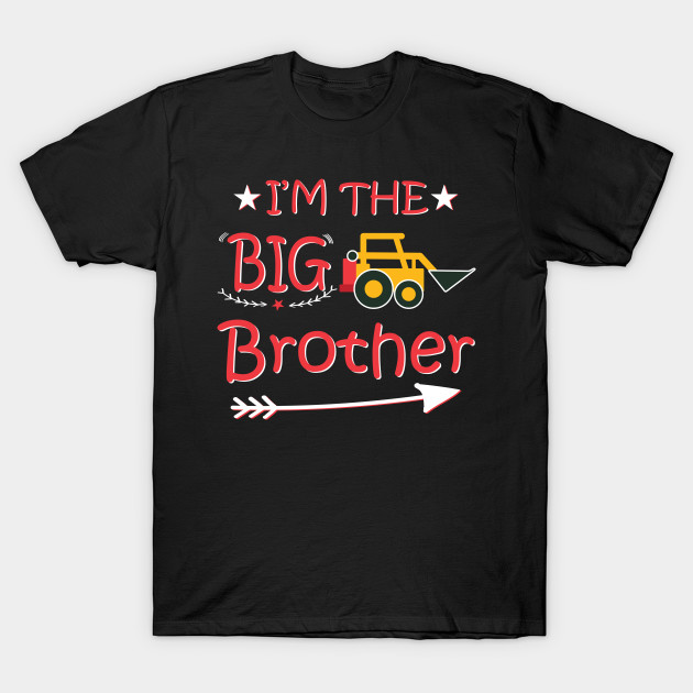 Gift for Big Brother 2020 Siblings Gift Infant Kids T-Shirt Boys