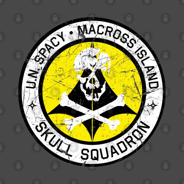 U.N. Spacy Skulls Patch Distressed