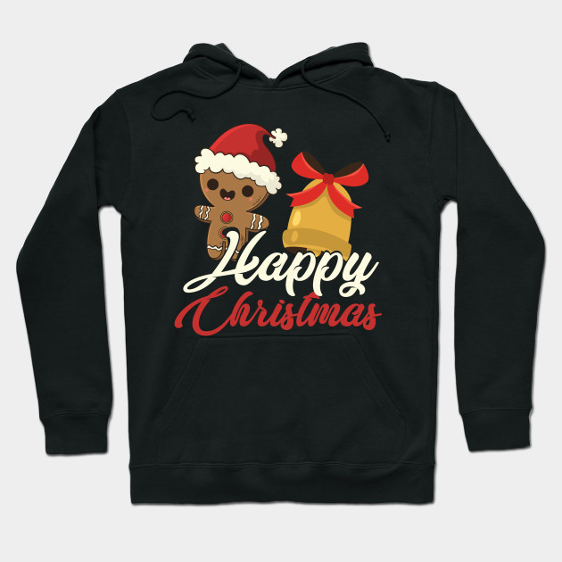 Christmas gingerbread Christmas Bell Xmas Hoodie