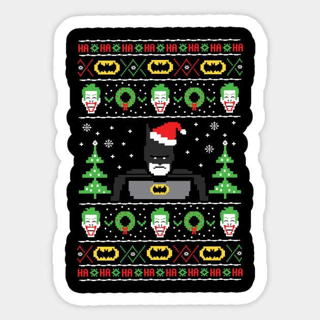Batman Ugly Christmas Sweater
