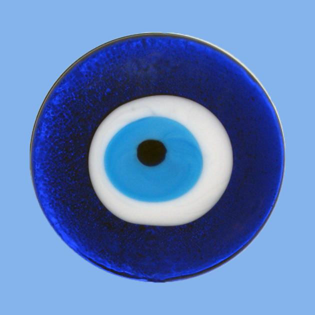 Nazar Evil Eye Protection Amulet Blue Bead Symbol by terrybain