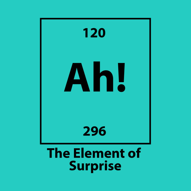 The Element of surprise