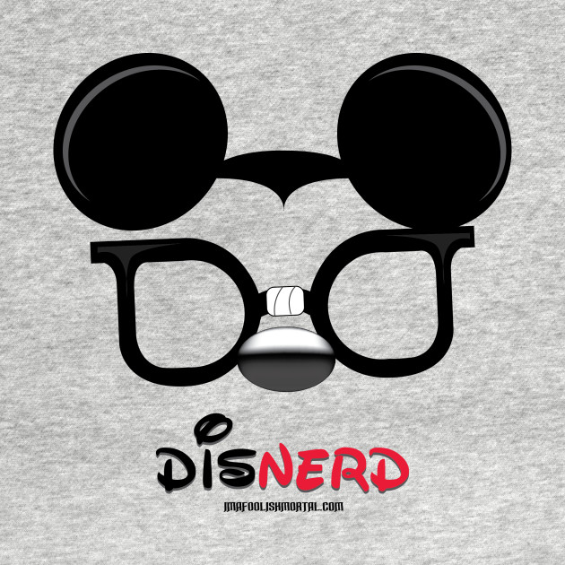 some of us are simply disNERDs by Topher Adam 2017