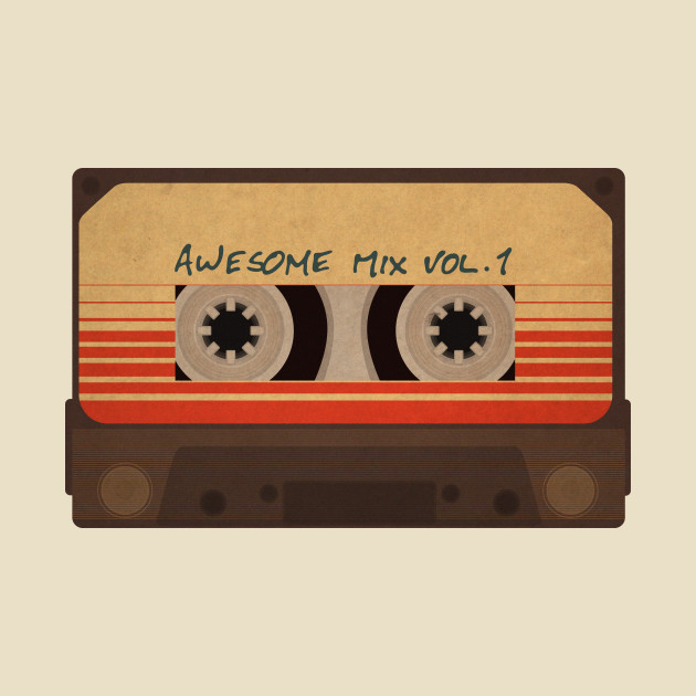 Awesome Mix Vol 1 - Guardians Of The Galaxy - T-Shirt  7f581298a7b