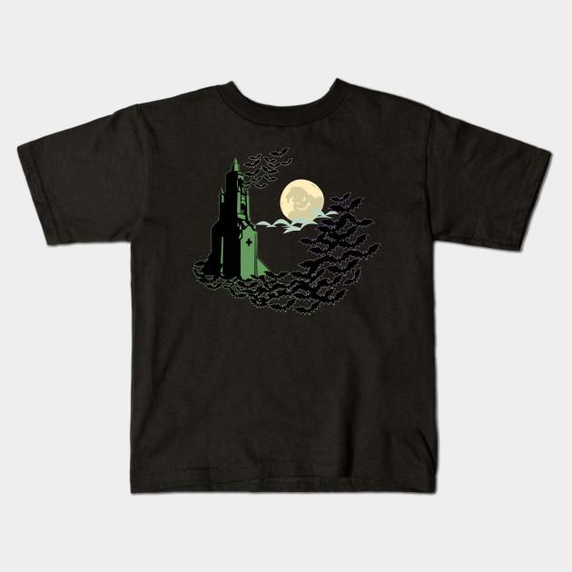 8bb260231 Flutter, Flutter Everywhere - Buena Vista Bats - Halloween - Kids T ...