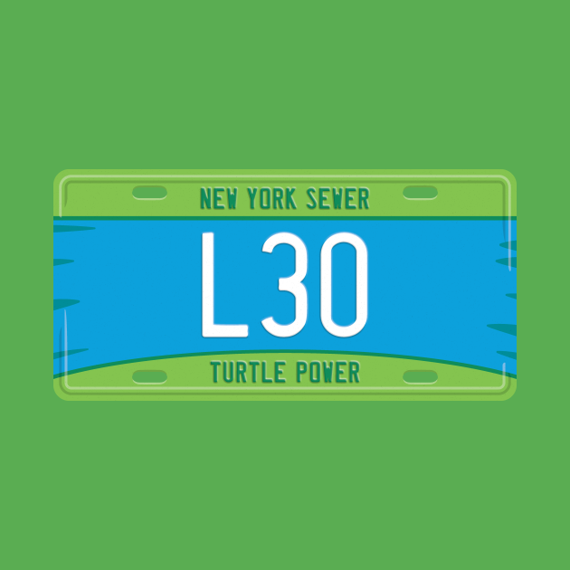 Leonardo License Plate