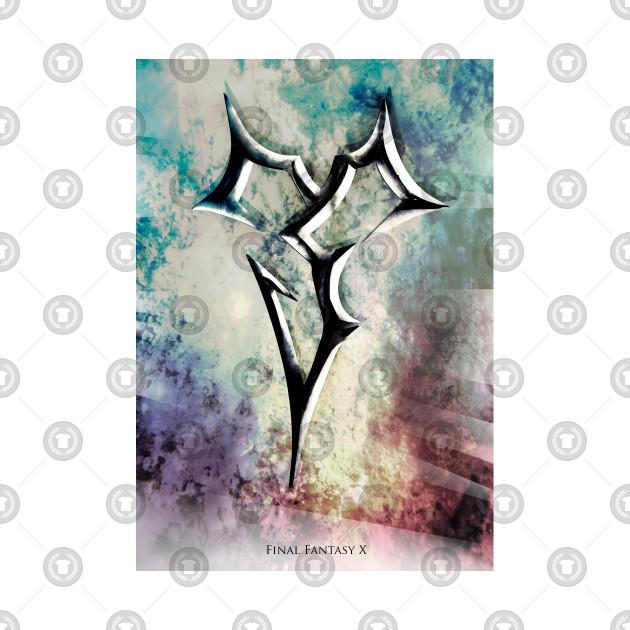 final fantasy x icon symbol