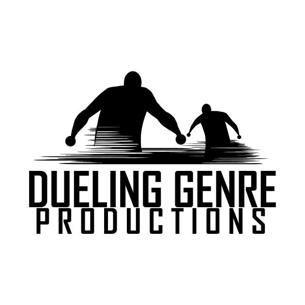 Dueling Genre Black Logo