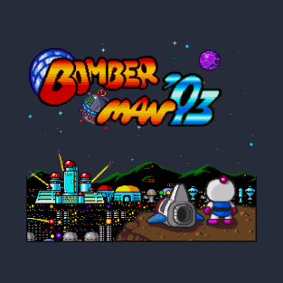 PC Engine BomberMan'93 Gaze t-shirts