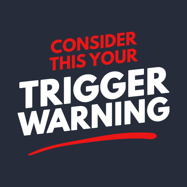 how to add a trigger warning