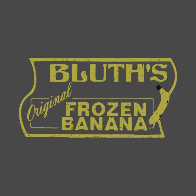 Arrested Development Bluths Original Frozen Banana