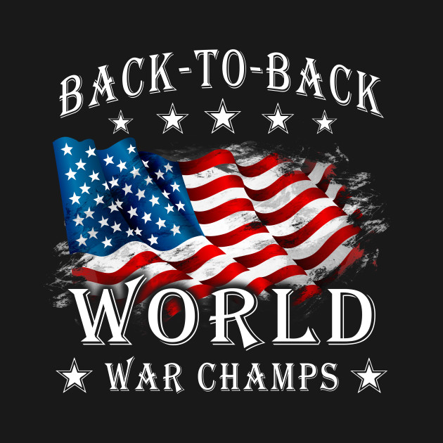 4b2dd5734a7 Back-To-Back World War Champs Love America - Love America - Tank Top ...