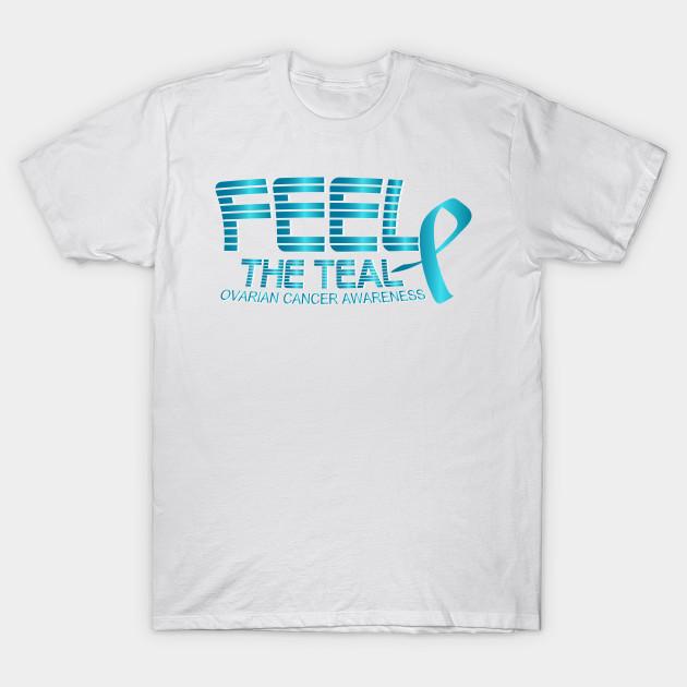 Ovarian Cancer Awareness Cancer Awareness T Shirt Teepublic