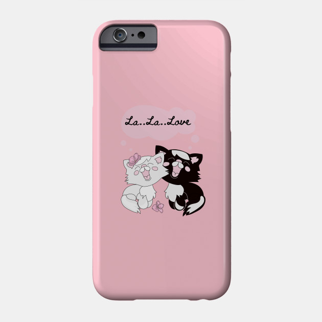 Cats in love | Valentine's Day Cartoon Cats Phone Case
