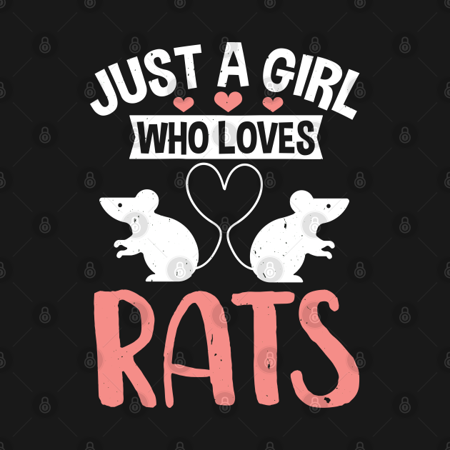 Just A Girl Who Loves Rats  Pet Rats  Small Animals Rodents