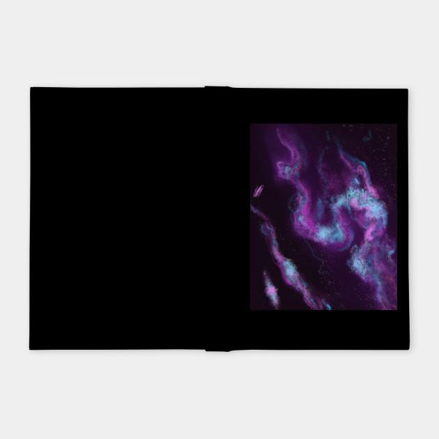 Blue and purple nebulae