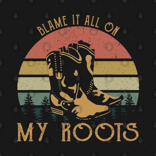 Vintage Garth Tees Brooks Blame It All On My Roots, Crazy Gifts - Garth Brooks - Felpa ...