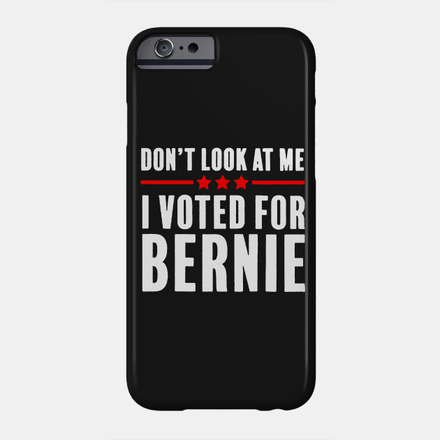 Voted for Bernie