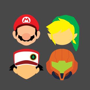 Nintendo Greats t-shirts