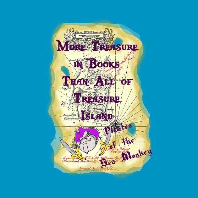 More Treasure in Books - Pirates of the Sea Monkey