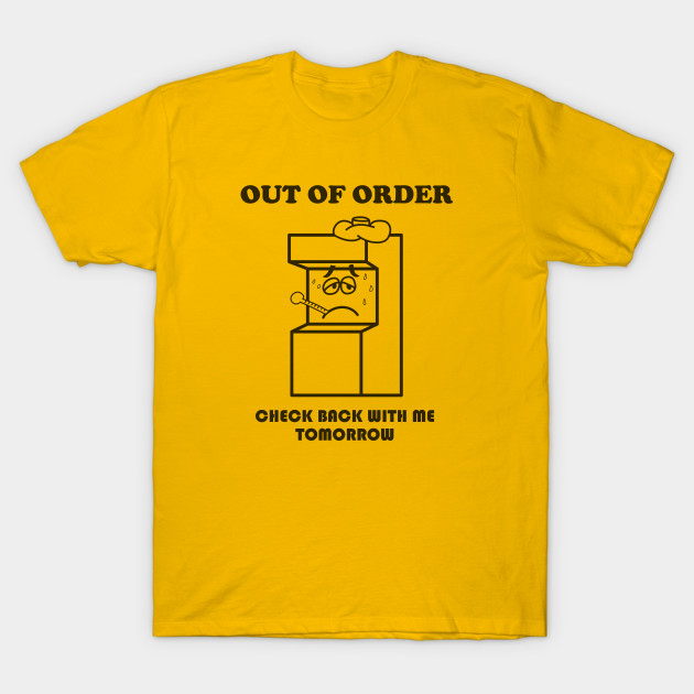 Out of Order at the Arcade - Wreck It Ralph - T-Shirt  a2fdc7df72db