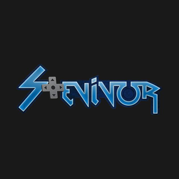 Stevivor logo (retro)