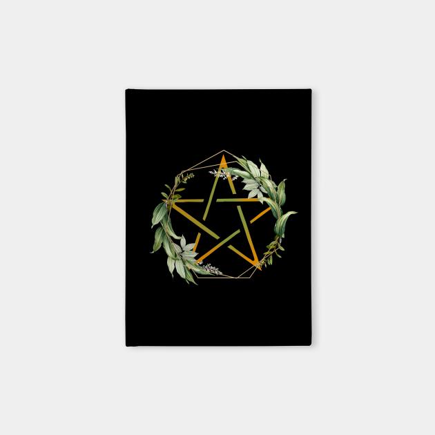 Pentacle or pentagram of the Wicca