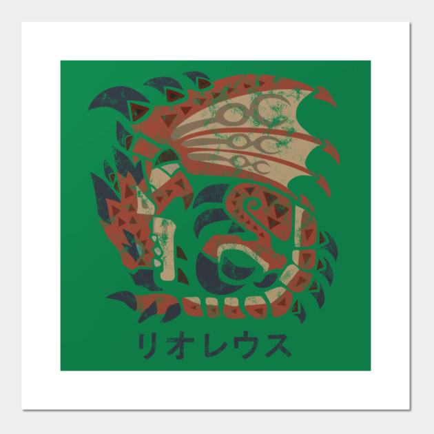 Monster Hunter World Rathalos Kanji Icon