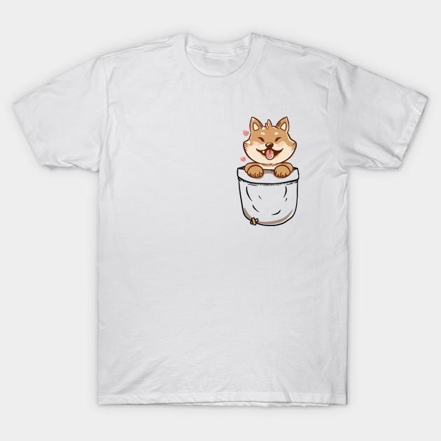 Etwas Neues genug Pocket Shiba Inu - Pocket Shiba Inu - T-Shirt | TeePublic &CU_38