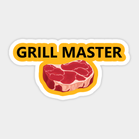 61788ed43 Grilling Stickers | TeePublic