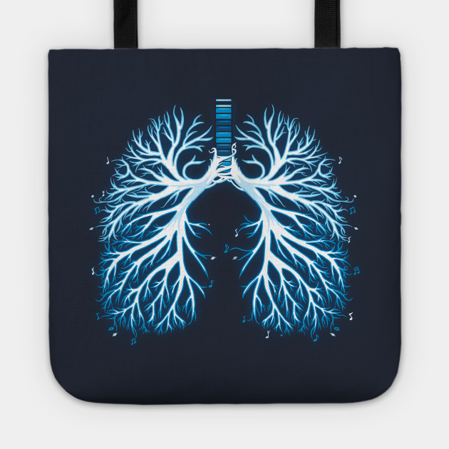I Breathe Music   Artistic Lungs