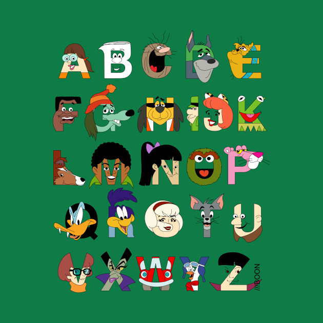 Child of the 70s Alphabet