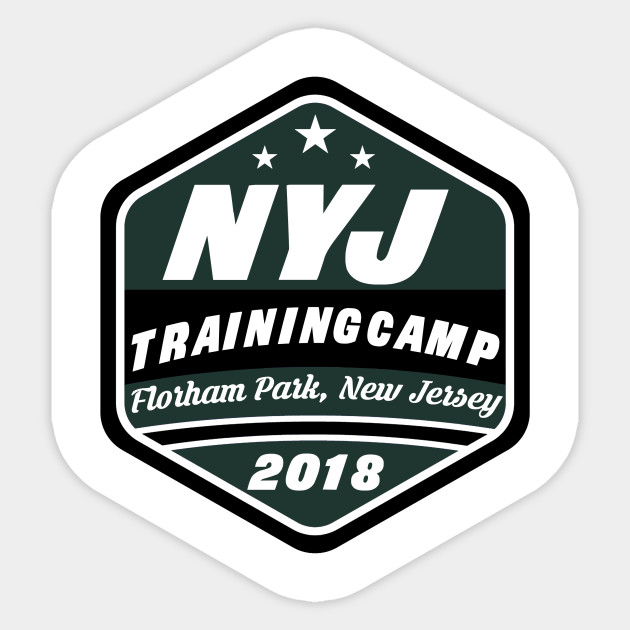 Football Training Camp Florham Park Nj New York Jets Sticker