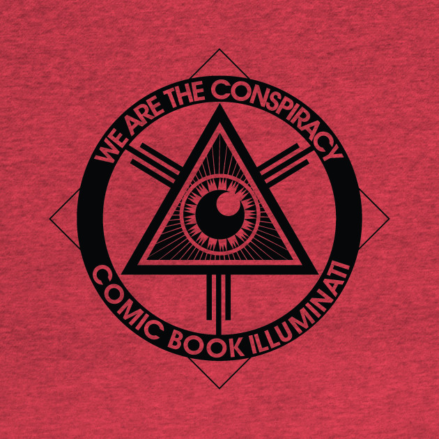 "The Official ""We Are the Conspiracy"" CBI T-Shirt"