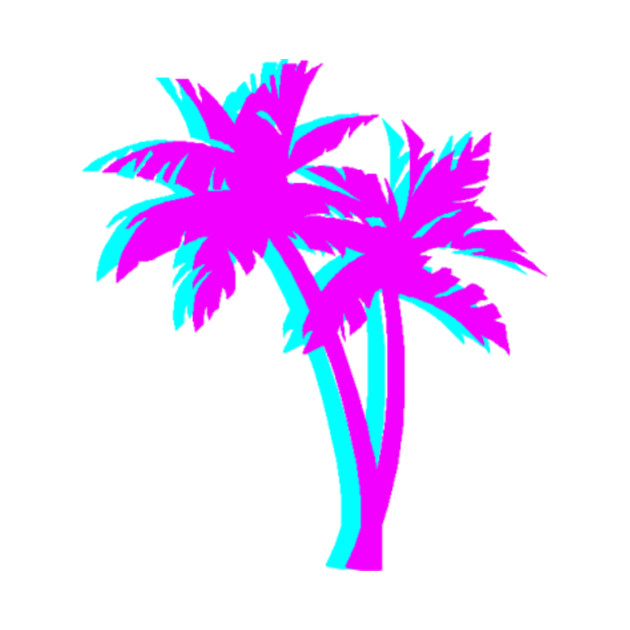 Vaporwave Palm Tree Vaporwave T Shirt Teepublic
