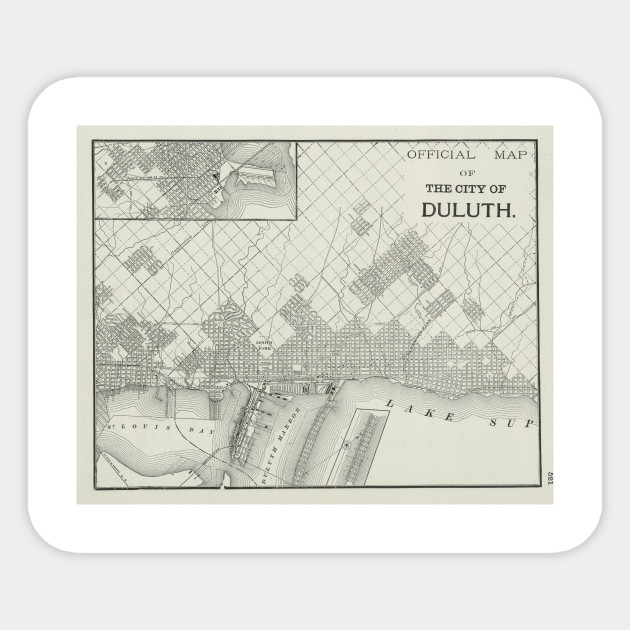 Vintage Map of Duluth MN (1901) on toronto map, los angeles map, chicago map, pittsburgh map, great lakes map, omaha map, des moines map, minnesota map, houston map, memphis map, wisconsin map, new orleans map, sioux falls map, milwaukee map, the twin cities map, cleveland map, seattle map, indianapolis map, mobile map, oklahoma city map,