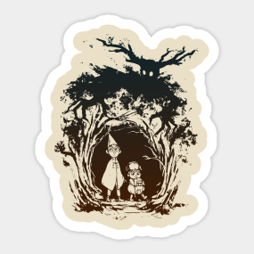 over the garden wall stickers teepublic - Over The Garden Wall Merchandise