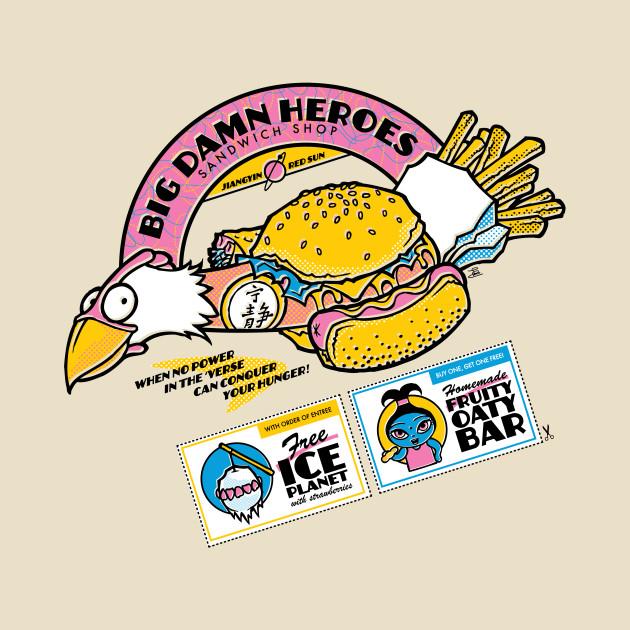 Big Damn Heroes Sandwich Shop