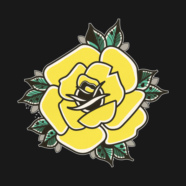 Yellow Rose Tattoo - Rose Tattoo - Mug | TeePublic