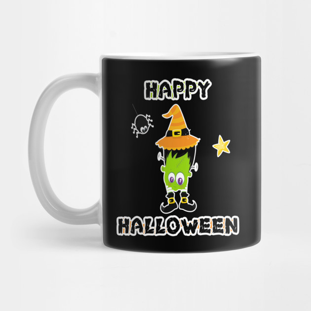 Happy Halloween print Scary Halloween products Mug